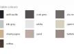Silgranit colors